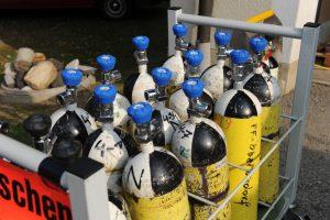 Atemschutzflaschen