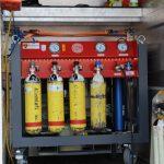 Mobile Atemschutzflaschen-Füllstation